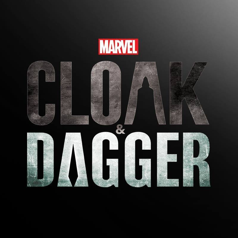 Marvel's Cloak and Dagger Title Poster