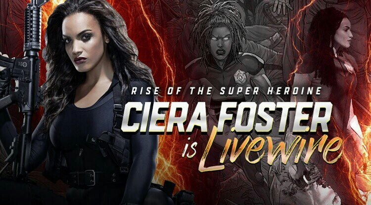 Ciera Foster is LiveWire For The Valiant Universe poster 1